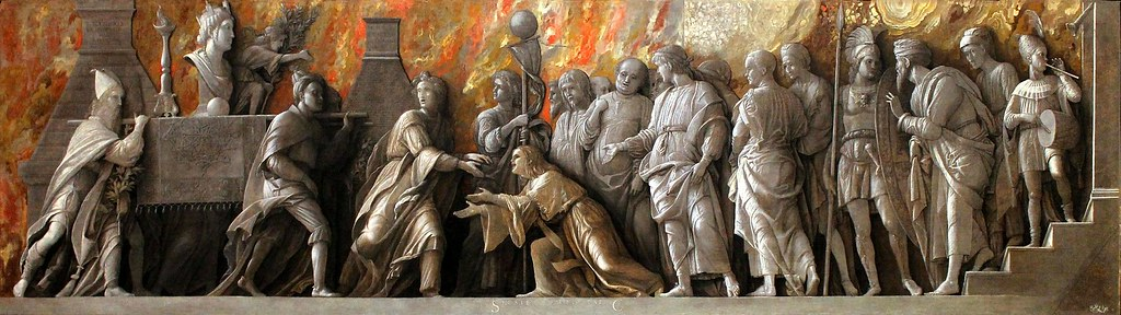 Andrea Mantegna. Introduction of the Cult of Cybele to Rome. 1505-06