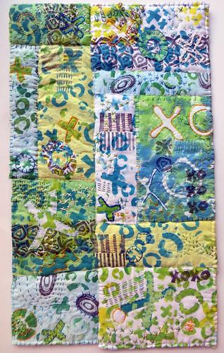 Big Smooch ~ art quilt