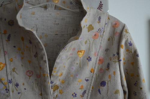 Wiksten Tova in beeeautiful Nani Iro flannel
