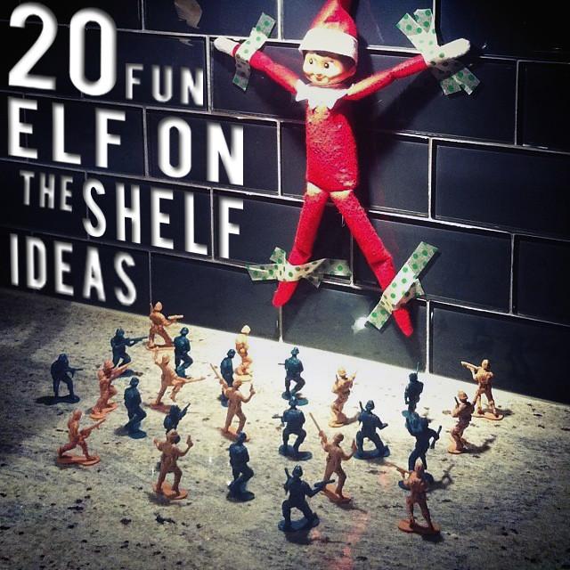 Hi Sugarplum / 20 Fun Elf on a Shelf Ideas
