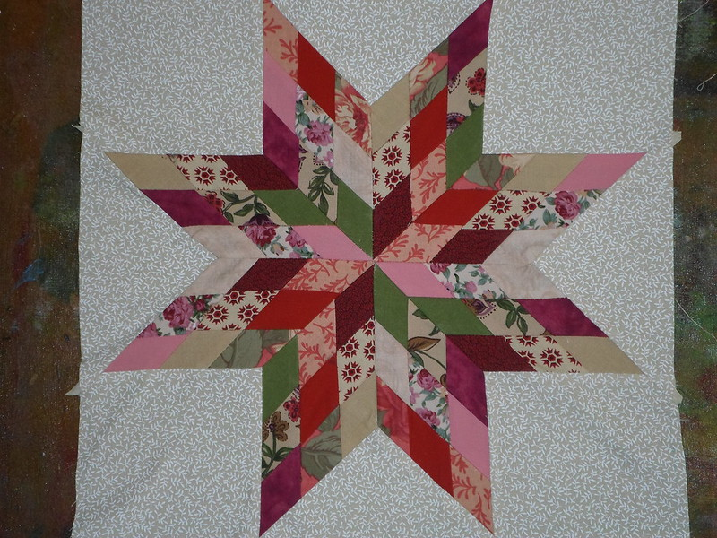 Scrap Happy Quilt Block 1