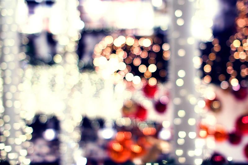 Julelys på Eldorado