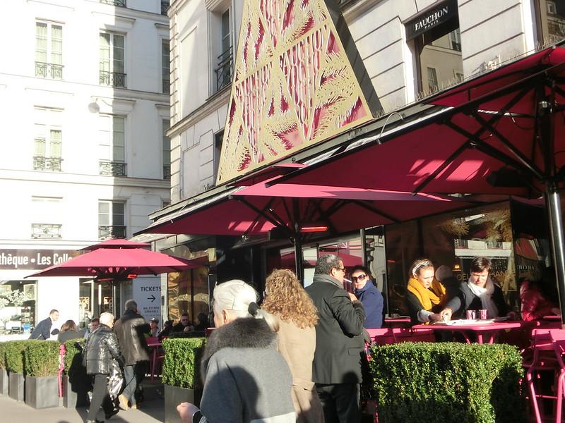 。巴黎。法式下午茶~fauchon(馥頌)