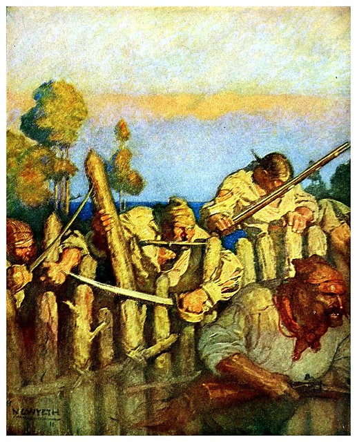004-Treasure Island -1911-ilustrada por NC Wyeth