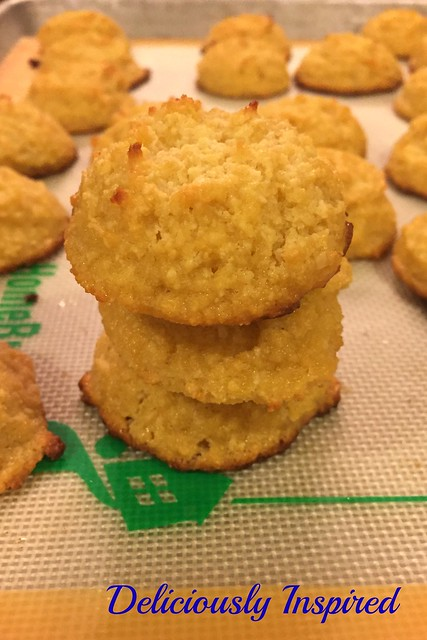 Lemon Paleo Cookies