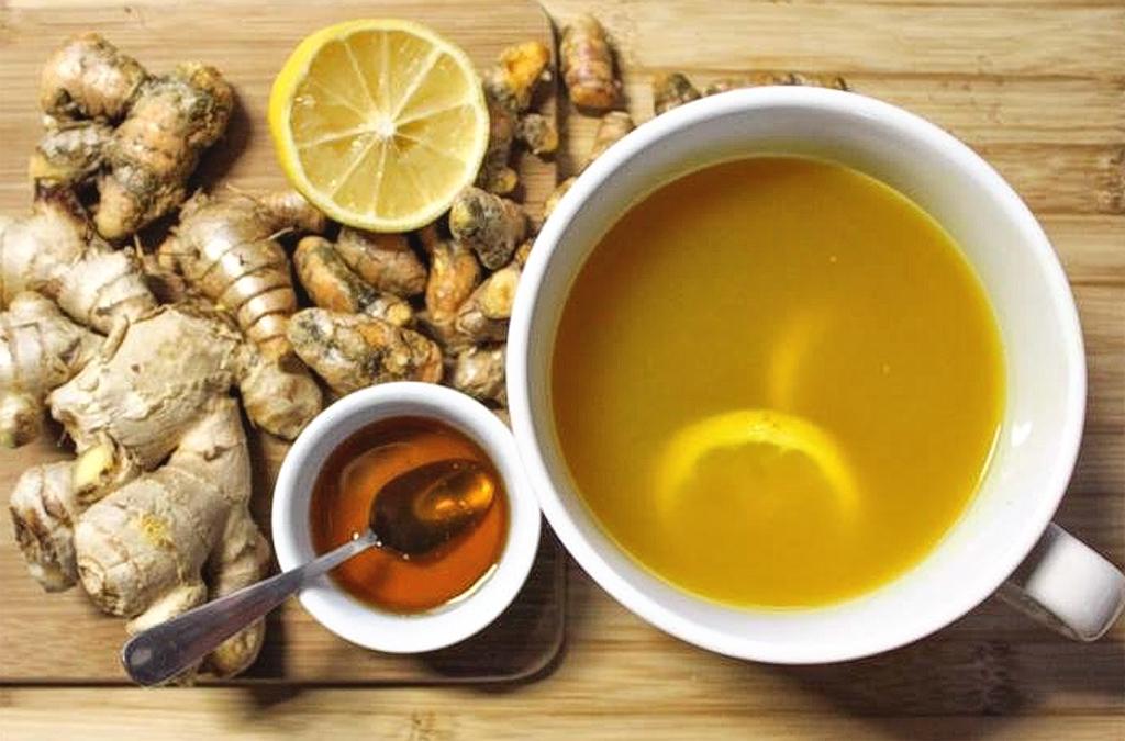 Ginger tea-