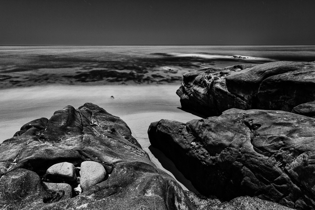 Windansea Beach at Night, 10315 © Michael Klayman 2014- 03