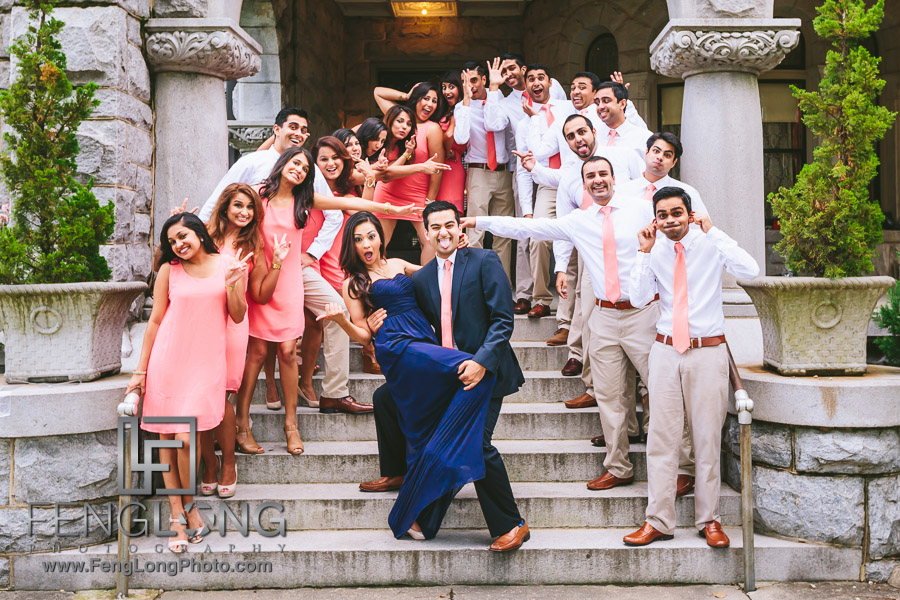 Ismaili Indian Pre-Wedding at Atlanta Rhodes Hall