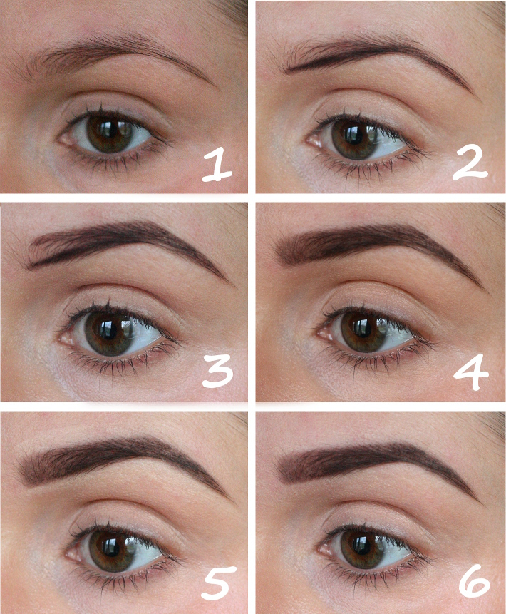 easy eyebrow tutorial