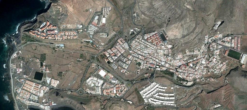 agaete, las palmas, gran canaria, gatete, después, urbanismo, planeamiento, urbano, desastre, urbanístico, construcción, rotondas, carretera