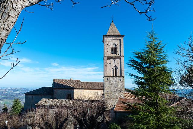 Belltower at Penna San Giovanni