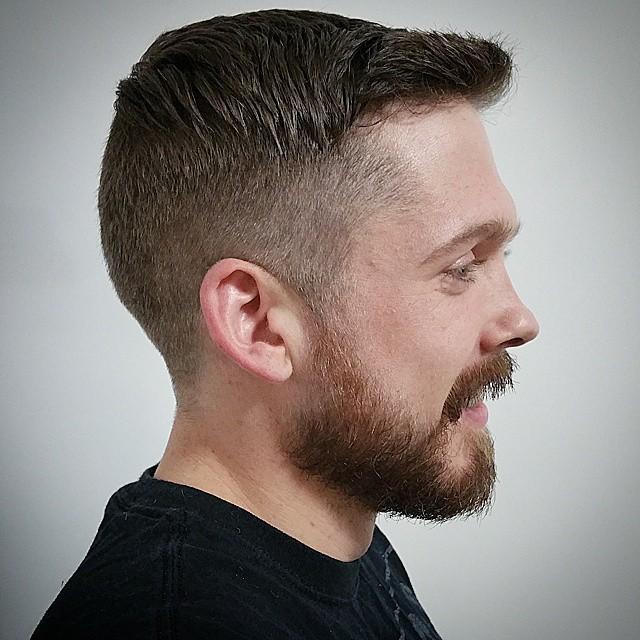 how to cut beard line