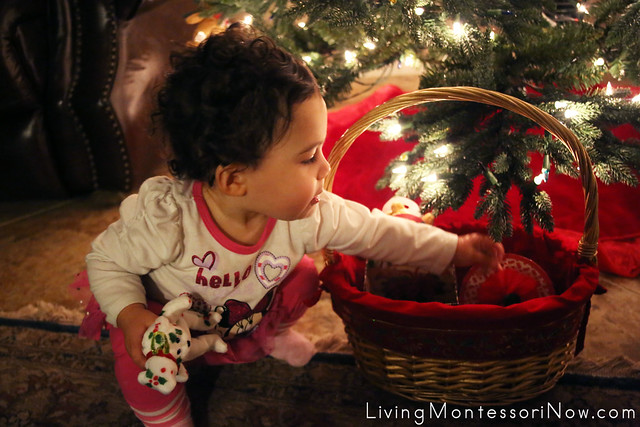 Continuing to Explore the Christmas Gift Box and Bag Treasure Basket