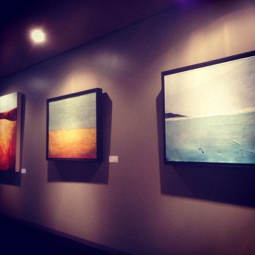 My paintings up at GCDC