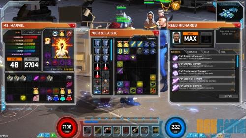 Marvel Heroes 2015 - Sistema de Crafteo