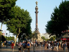 Barcelona, Mirador de Colom