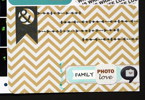 Photo Booth Scrapbook Layout with Project Life Seafoam Edition Core Kit | shirley shirley bo birley Blog