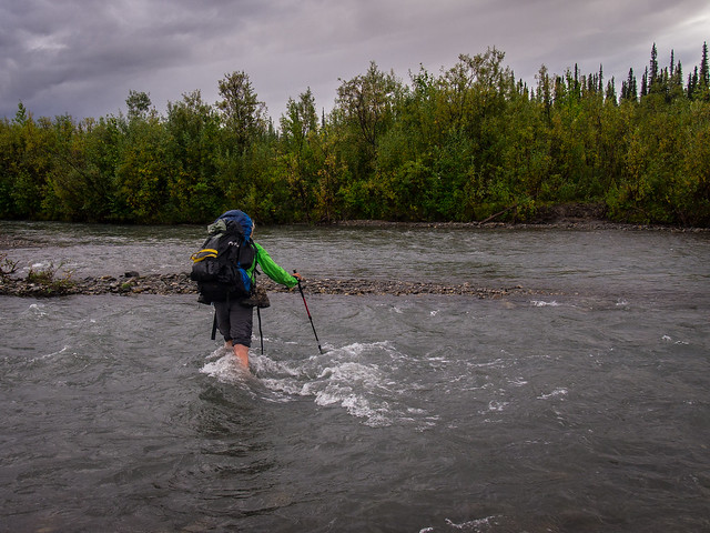 Crossing the Savage River