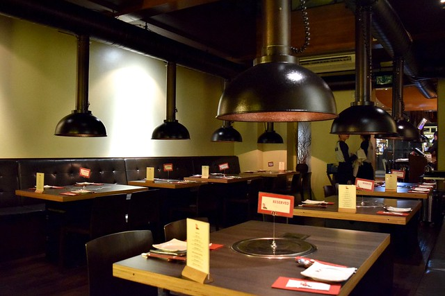 Interior of Koba, Fitzrovia