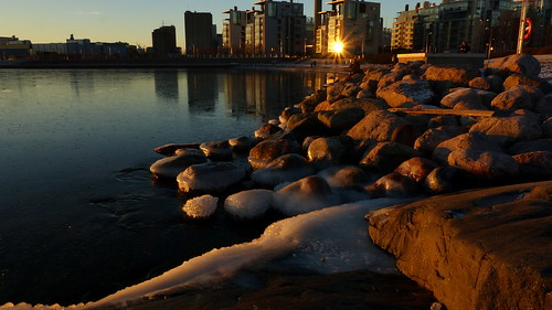winter sunset sea sky seascape finland geotagged helsinki january balticsea u helsingfors fin seashore eira uusimaa 2015 hernesaari nyland ursininkallio ärtholmen 201501 geo:lat=6015448362 geo:lon=2493669888 20150105