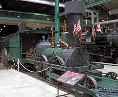 "Replica of Camden & Amboy Railroad's ""John Bull"" steam locomotive 6"