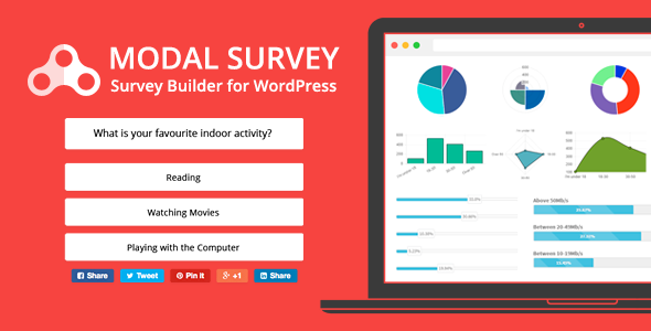 Modal Survey v1.9.9.7 – WordPress Poll, Survey & Quiz Plugin