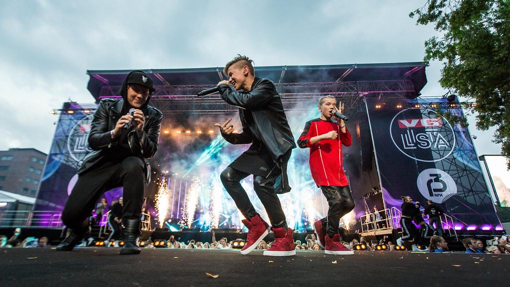 Marcus & Martinus feat. Katastrofe - VG-lista Topp 20 - Rådhusplassen 2016