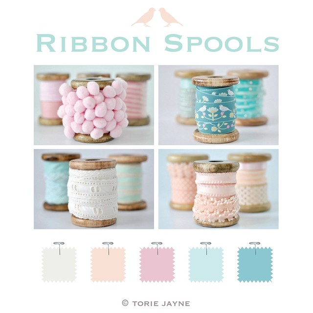 My Ribbon spools