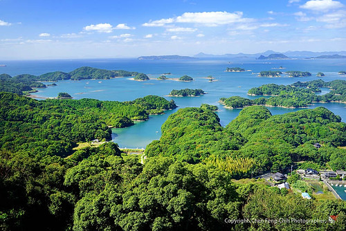 japan islands redhat nagasaki sasebo kyushu 長崎 佐世保 kujukushima 小紅帽 36mp 九十九島 展海峰