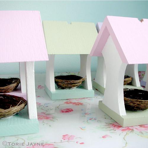 Easter bird house tutorial