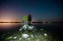 Torch Lake Light Painting