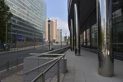 La rue de la Loi au Quartier Européen