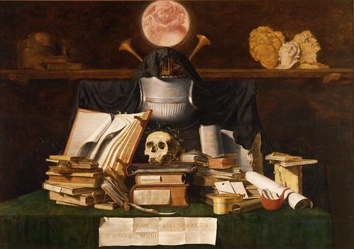 [ G ] Jacques de Gheyn (I) - Vanitas Still Life  (1621)