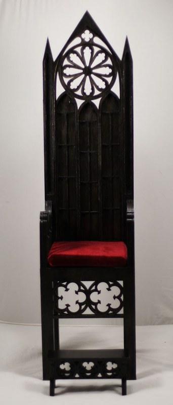 Gothic throne model 02