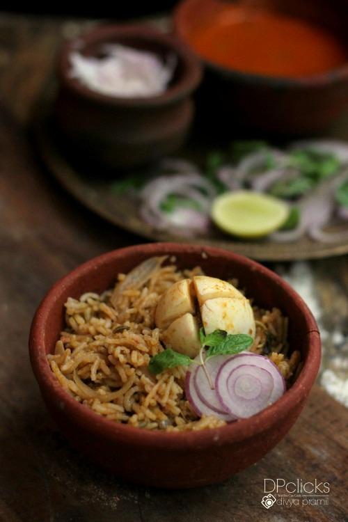 Egg Biryani | Mutta Biryani | South Indian Egg Biryani Recipe | Biryani Recipe Without Coconut Milk | Hard Boiled Egg Biryani