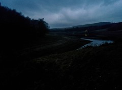 Errwood Reservoir Dusk