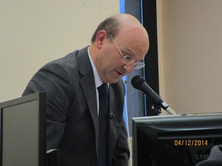 Il consigliere Paolo Tundo