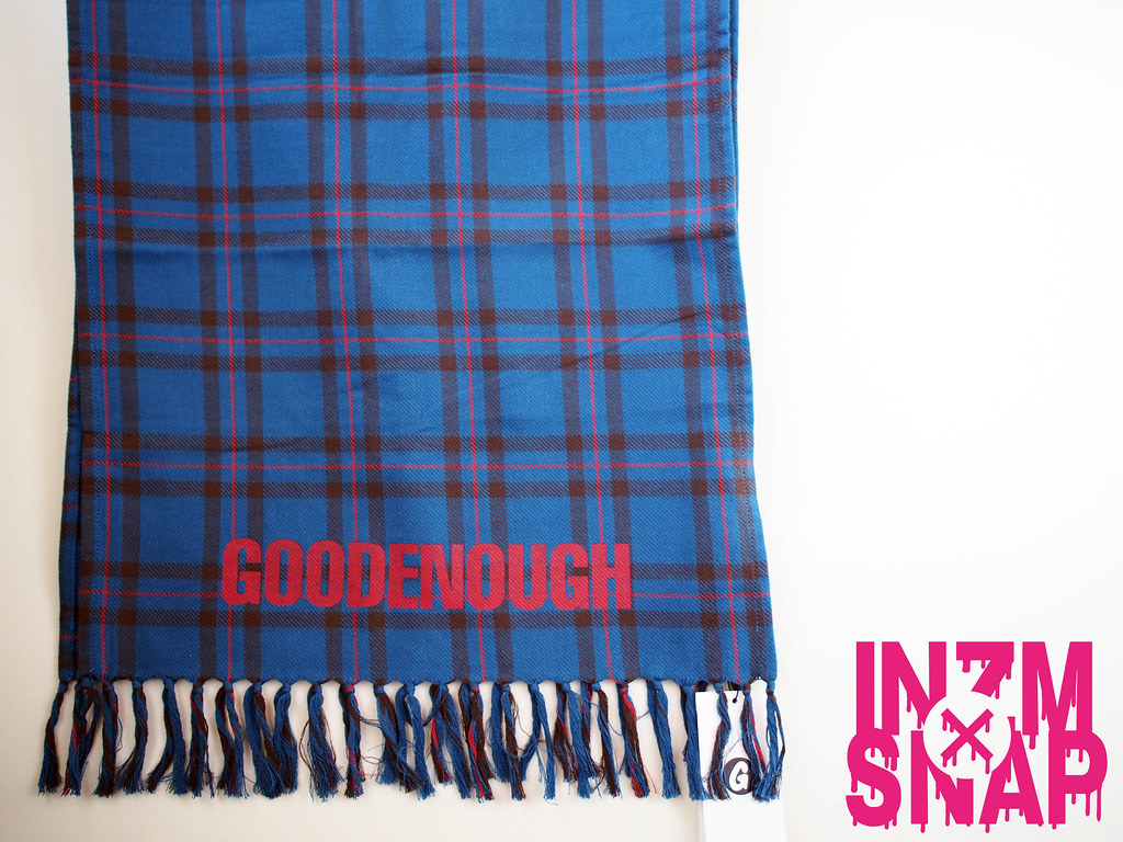 GOODENOUGH | Flannel Check Stole