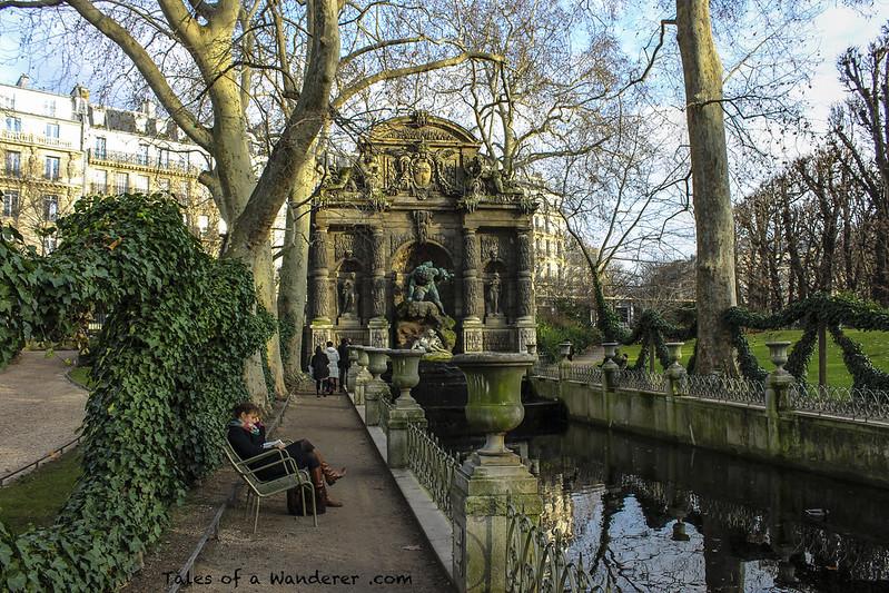 PARIS - Jardin du Luxembourg - Fontaine Médicis
