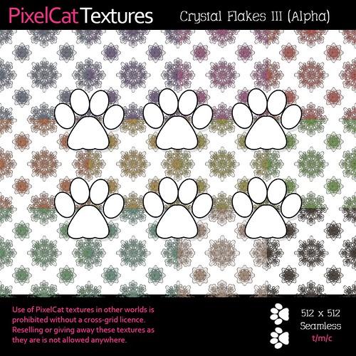PixelCat Textures - Crystal Flakes III (Alpha)