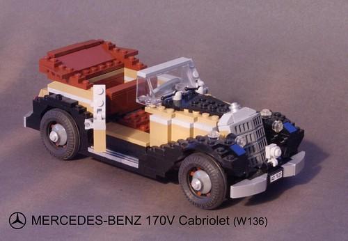 Mercedes-Benz 170V Cabriolet (W136 - 1936)