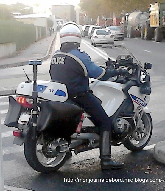Motard Police Toulouse _ 2014