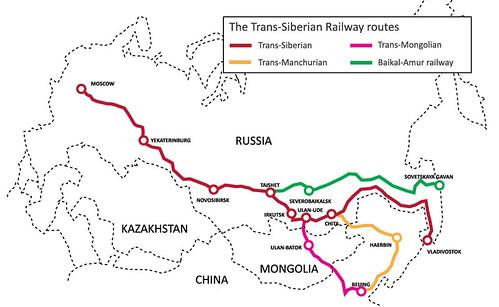Les différentes lignes russes