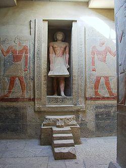 Falsa puerta de Mereruka, antiguo egipto