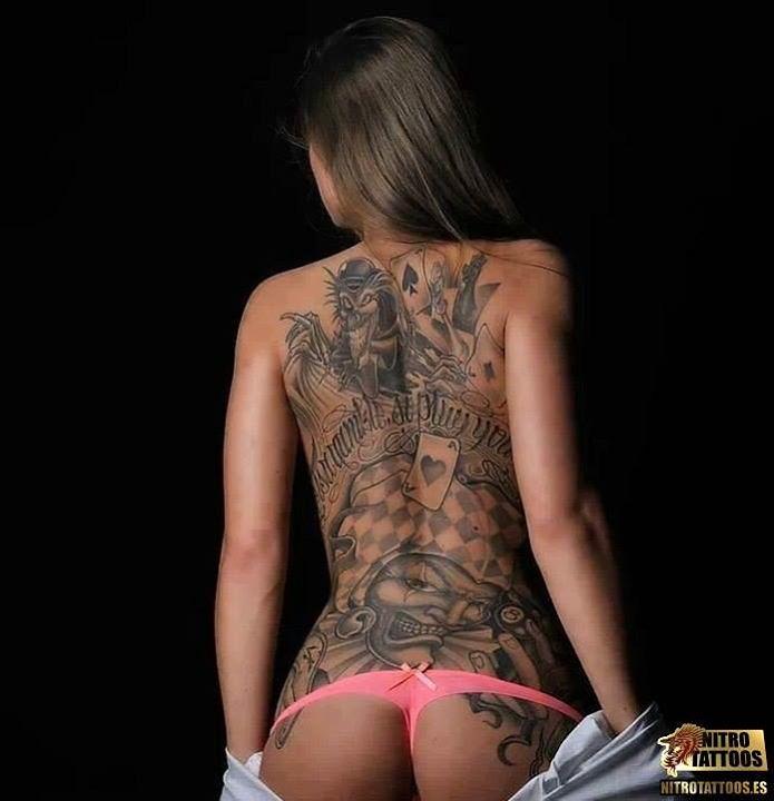 Tattoos Tatuaje Para Mujeres En La Espalda Wwwnitrotatto Flickr