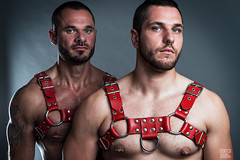 Manfred & Bernhard - Piercing Twins