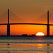 Sunshine Skyway at Dawn by Old Boone