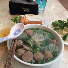 Ummmm super late lunch is about to be on smash!! Lol. Planning 2015 PPSTWR events over some Pho and Crispy Sping Rolls! :ramen::grin: #pho #delicious #goodfood #illest #igfood #instagood #instafresh #inspire #eatwell #streetwear #vietnamese #lovewhatyoudo