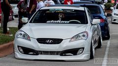 auto show(0.0), automobile(1.0), automotive exterior(1.0), hyundai(1.0), wheel(1.0), vehicle(1.0), automotive design(1.0), mid-size car(1.0), hyundai genesis coupe(1.0), bumper(1.0), sedan(1.0), land vehicle(1.0), coupã©(1.0), sports car(1.0),