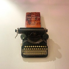 'The typewriter is holy'